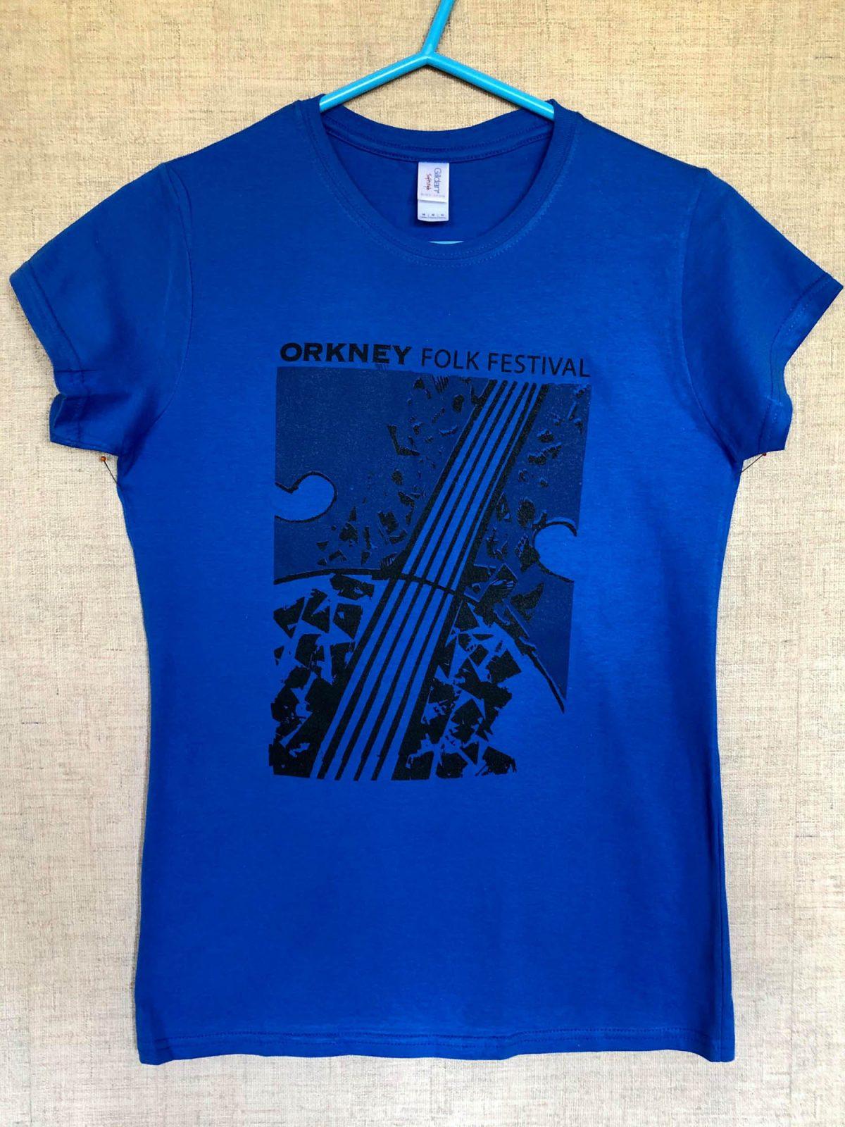 T-shirt Unisex Barriers Blue