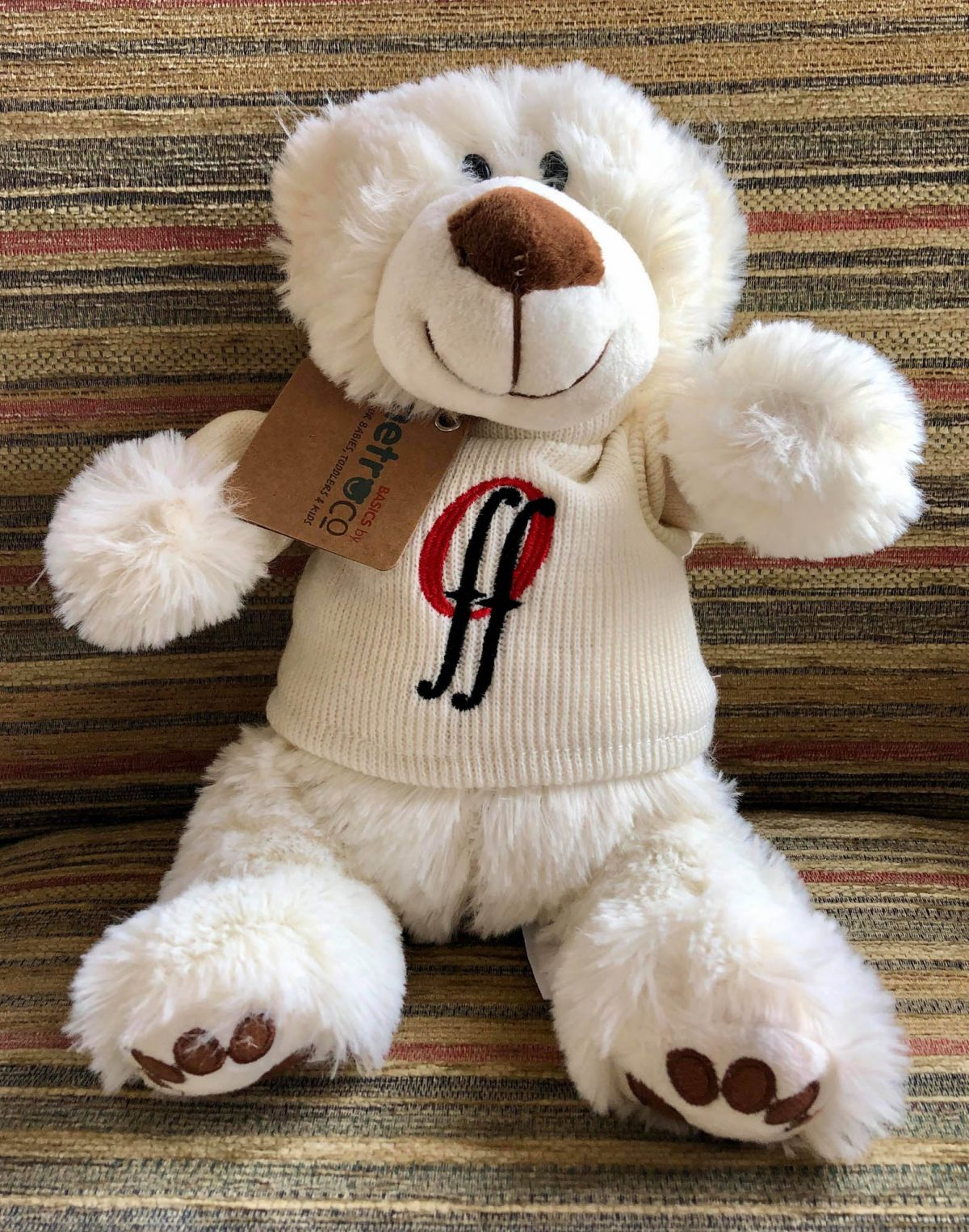 Teddy Cream Jumper