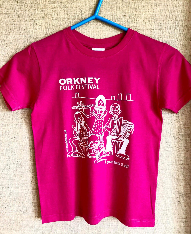 T-shirt Childrens Pink