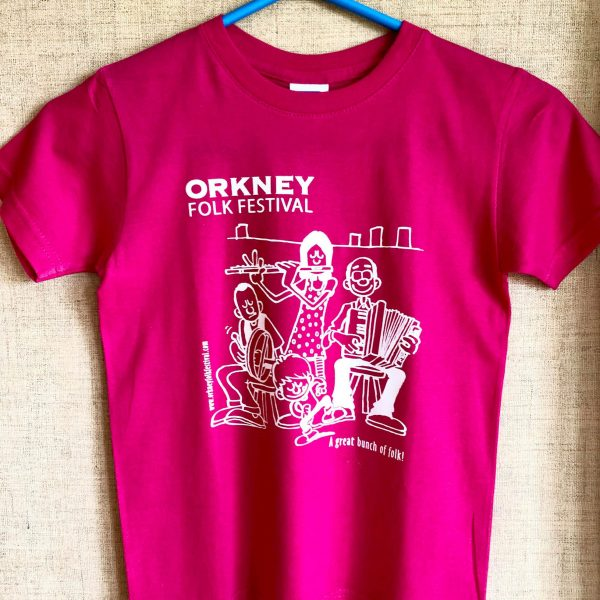 T-shirt Childrens Pink